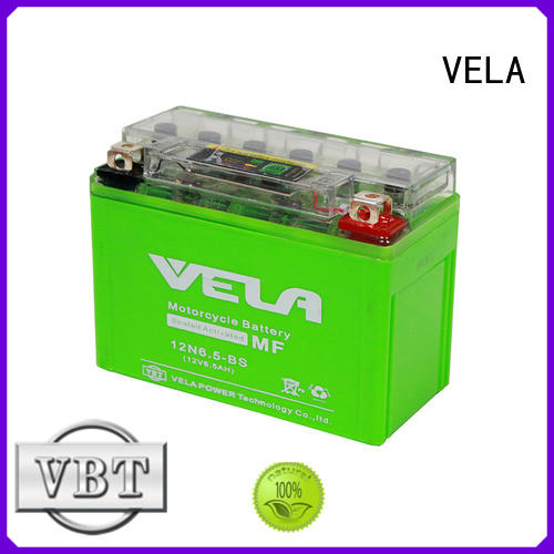 VELA high performance motorcycle battery great for motorbikes