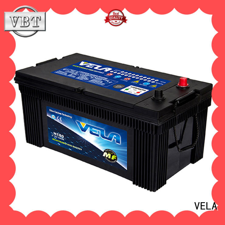 VELA efficient truck battery best choice for auto