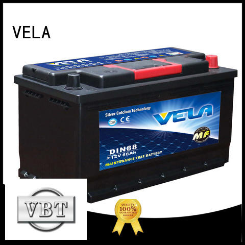 VELA vehicle battery car