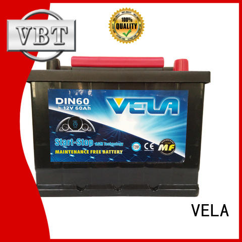 VELA agm car battery widely used for vehicle