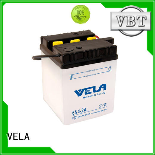 VELA reliable lead acid battery very useful for motorbikes