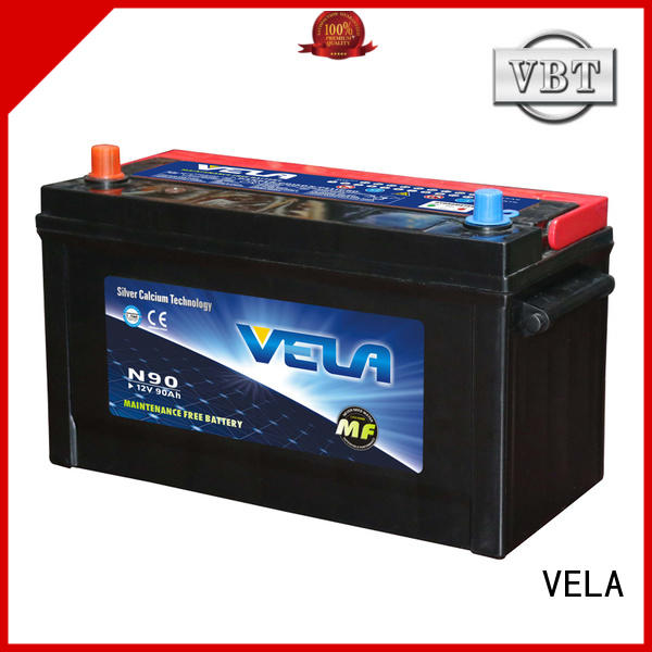VELA vehicle battery widely employed for automobile