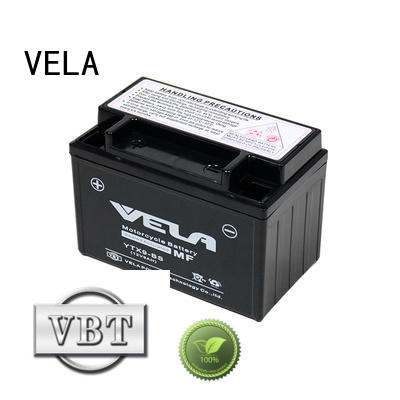 VELA use conveniently wet battery excellent for autocycle