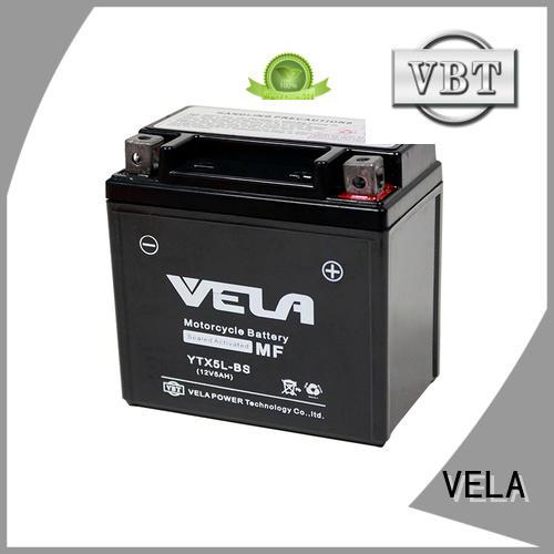 VELA wet charged battery motorbikes