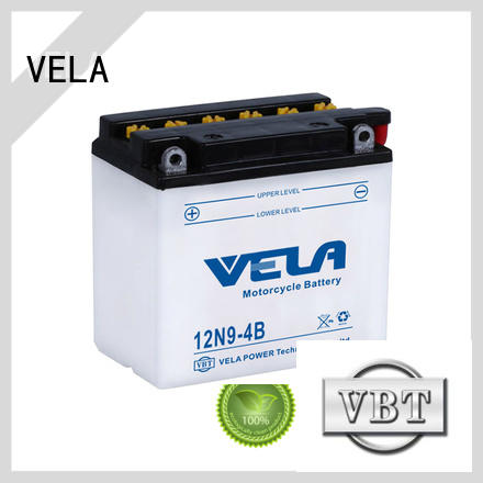 VELA lead acid motorcycle battery very useful for motorcyles