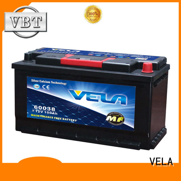 VELA best car battery excellent for automobile