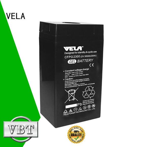 VELA reliable industry batteries solar system