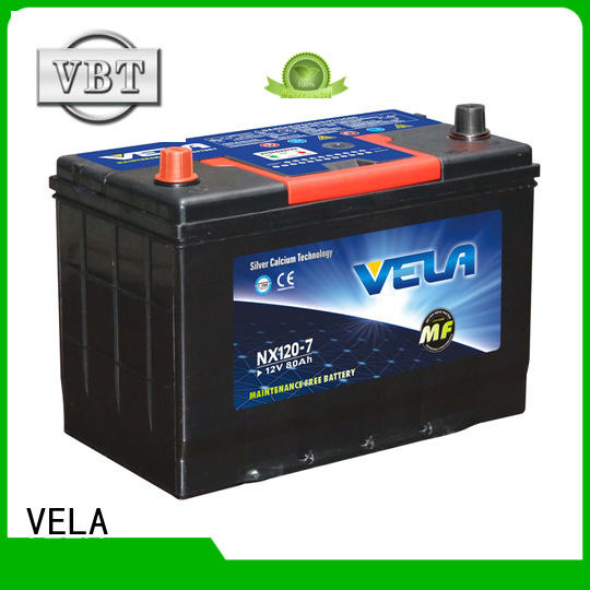 car maintenance free battery very useful for car industry VELA
