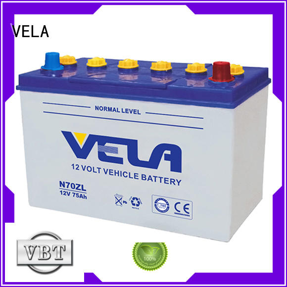 VELA professional best car battery brand perfect for automobile