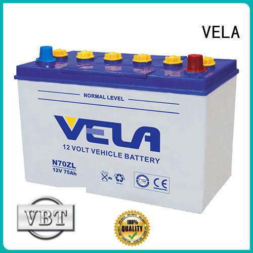 VELA car dry battery great for car