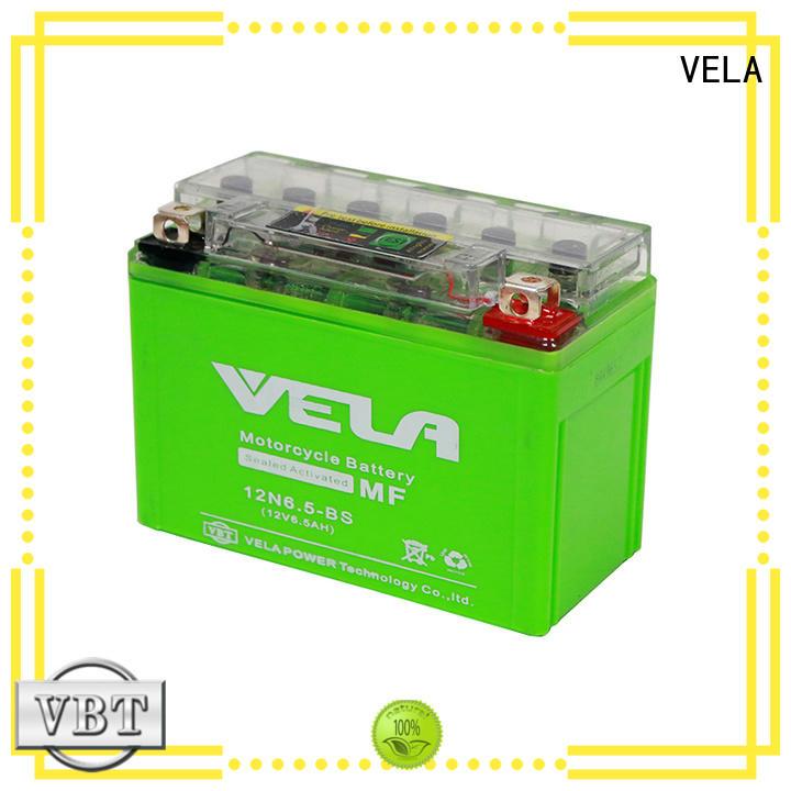 VELA environment friendly buy motorbike battery popular for motorbikes