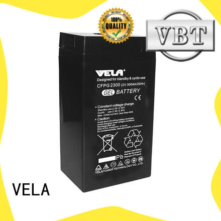VELA traction battery widely used for power plant