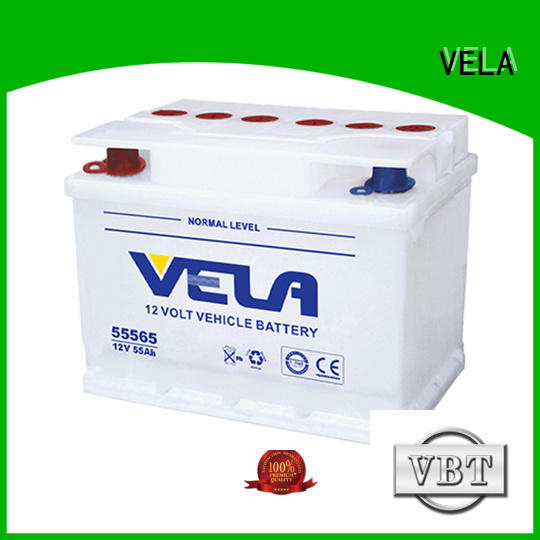 VELA good quality car battery suppliers ideal for vehicle industry