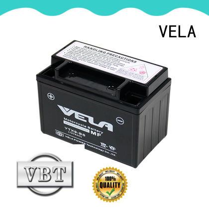 VELA wet battery optimal for autocycle