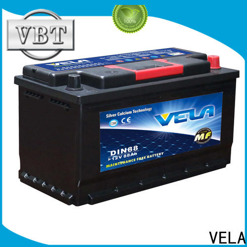 high grade good car battery widely employed for automobile