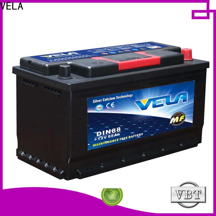 VELA durable auto battery sizes car