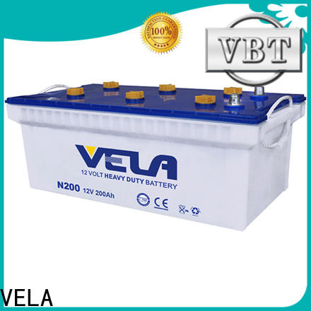 VELA heavy duty motorcycle battery excellent for auto