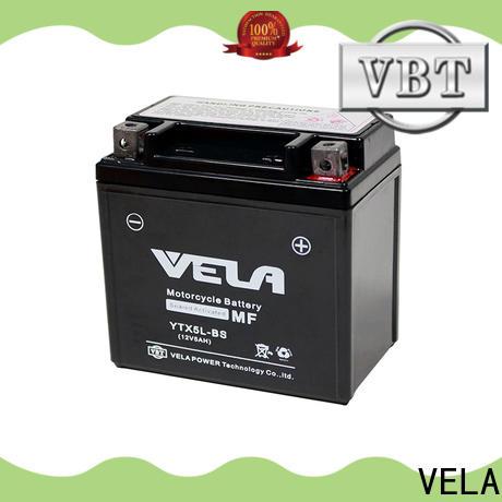 VELA high performance sealed motorcycle battery motorbikes
