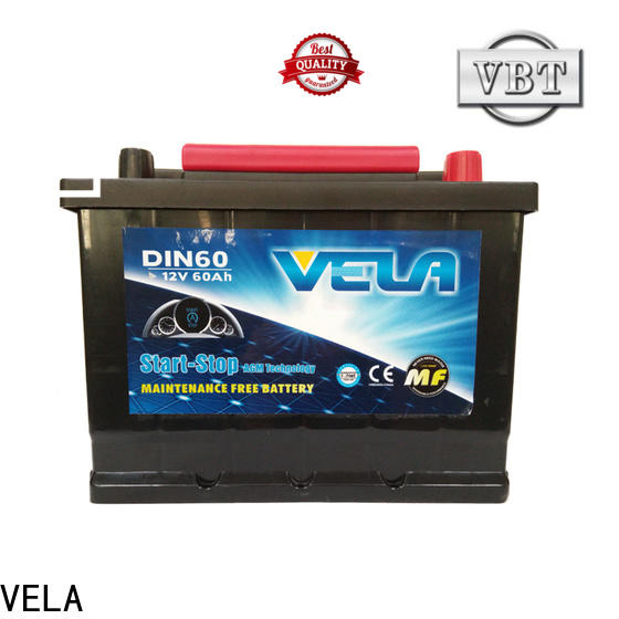 VELA durable best battery widely used for automobile