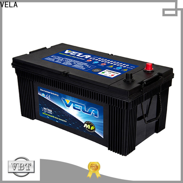 VELA heavy duty battery best choice for auto