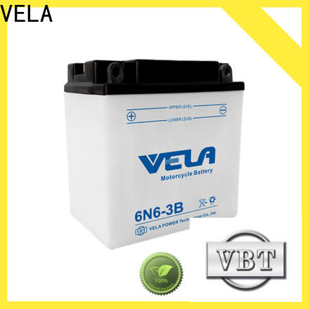 VELA durable best motorcycle battery type needed for motorbikes