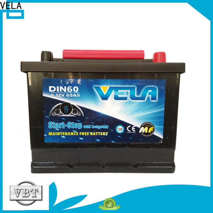 VELA install car battery vehicle