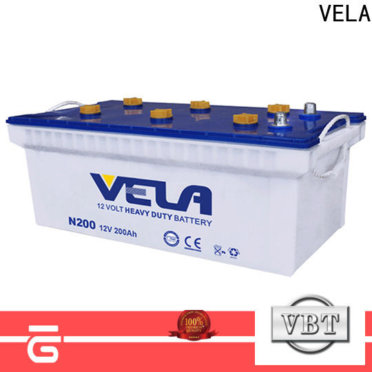 VELA high conductivity heavy duty motorcycle battery excellent for tractor