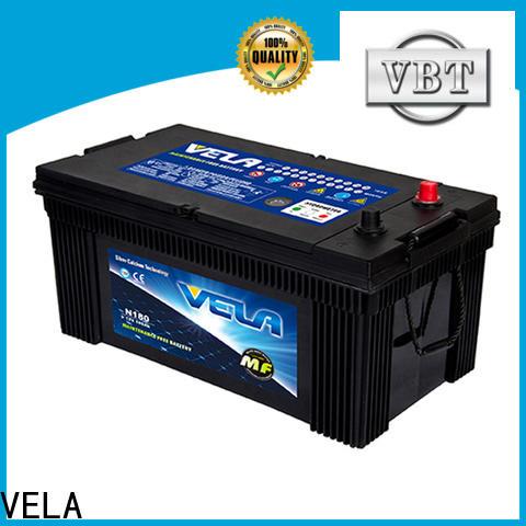 VELA hot sales commercial truck batteries popular for truck