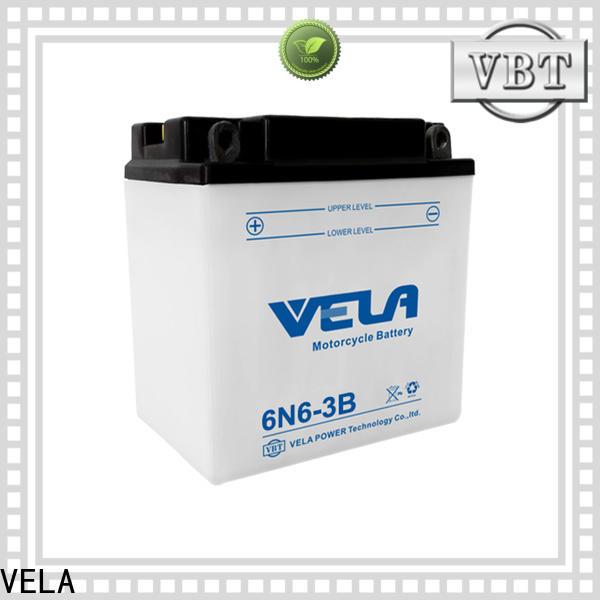 VELA widely employed for motorcyles