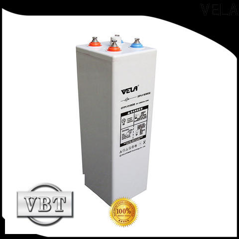 VELA maintenance free battery excellent for UPS system