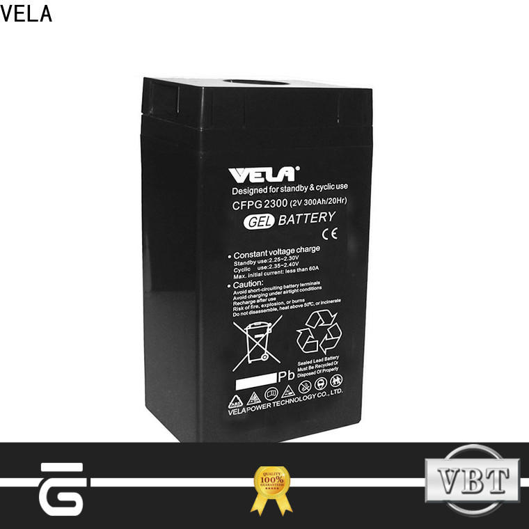 VELA industrial battery ideal for power plant