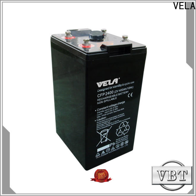 VELA golf cart batteries satisfying for solar system