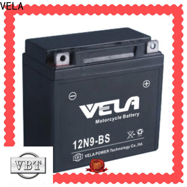 VELA high performance wet charged battery autocycle