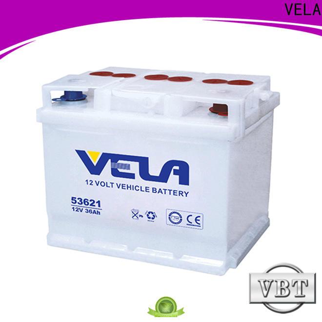 VELA professional best car battery brand optimal for automobile