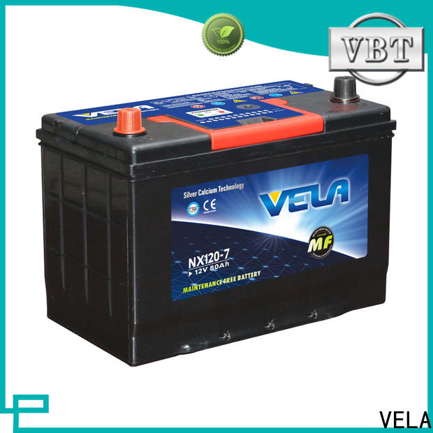 VELA high performance cheap car batteries for sale widely employed for vehicle