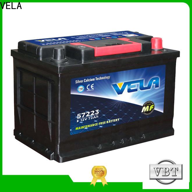 VELA cheap car batteries for sale vehicle