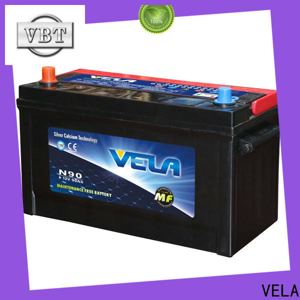 VELA dry cell car battery maintenance car