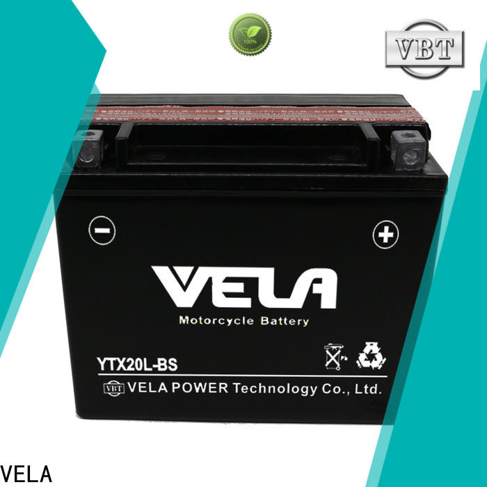 VELA convenient motorcycle battery replacement motorcycle industry