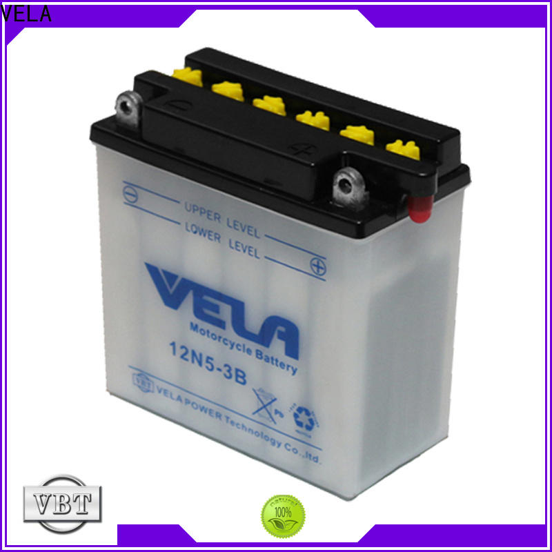 VELA professional motorcycle battery voltage excellent for motorbikes