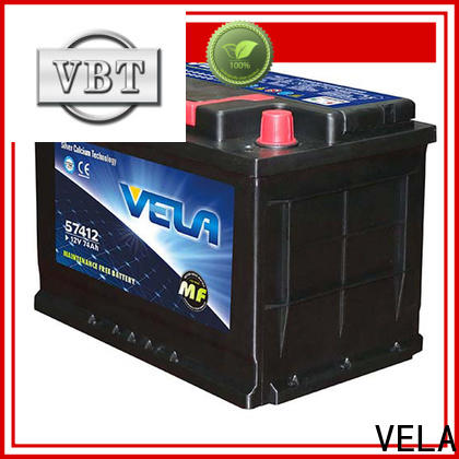 VELA high performance auto battery reviews widely employed for car