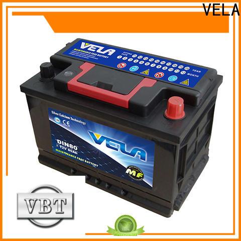 VELA auto car battery excellent for car