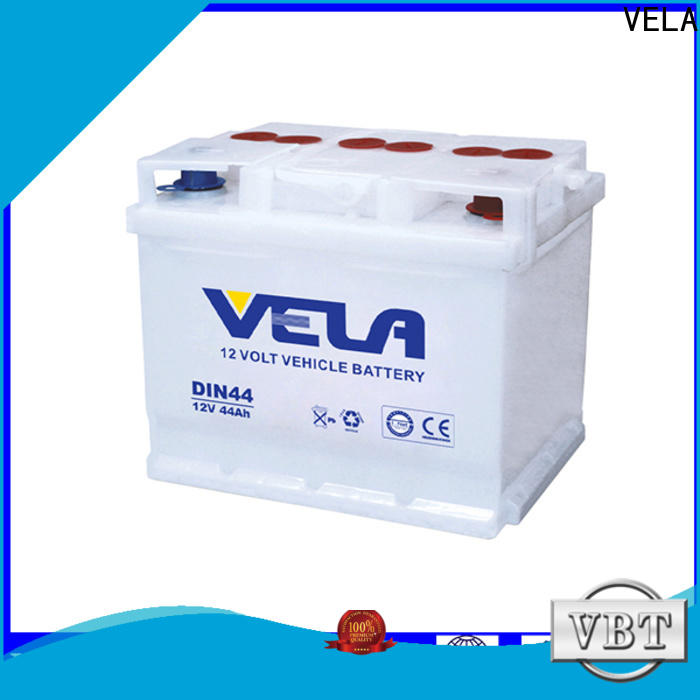 VELA dry cell car battery perfect for car