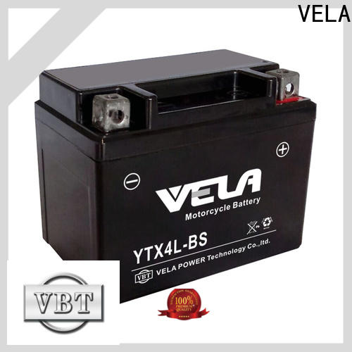 VELA motorbike battery price excellent for motorcycle industry