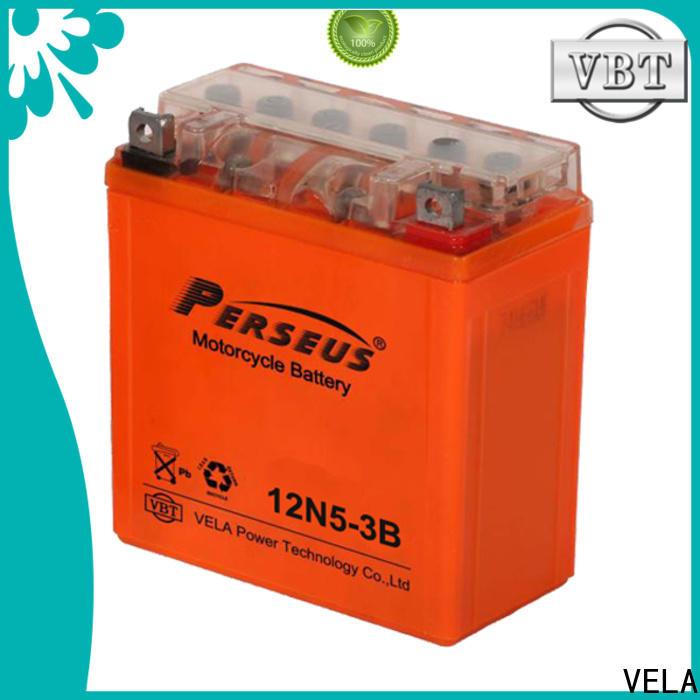 VELA durable car battery cheap suitable for autocycle