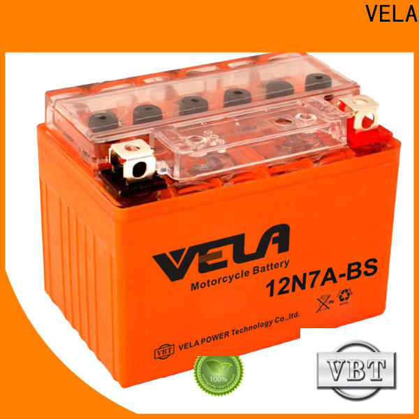 VELA install car battery suitable for motorbikes