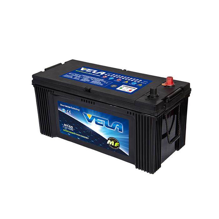 N165  12V165AH MF Car Battery Sell Well