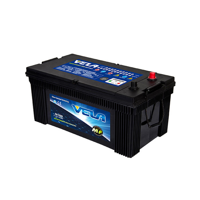 N180 12V180AH MF Car Lead Acid Battery