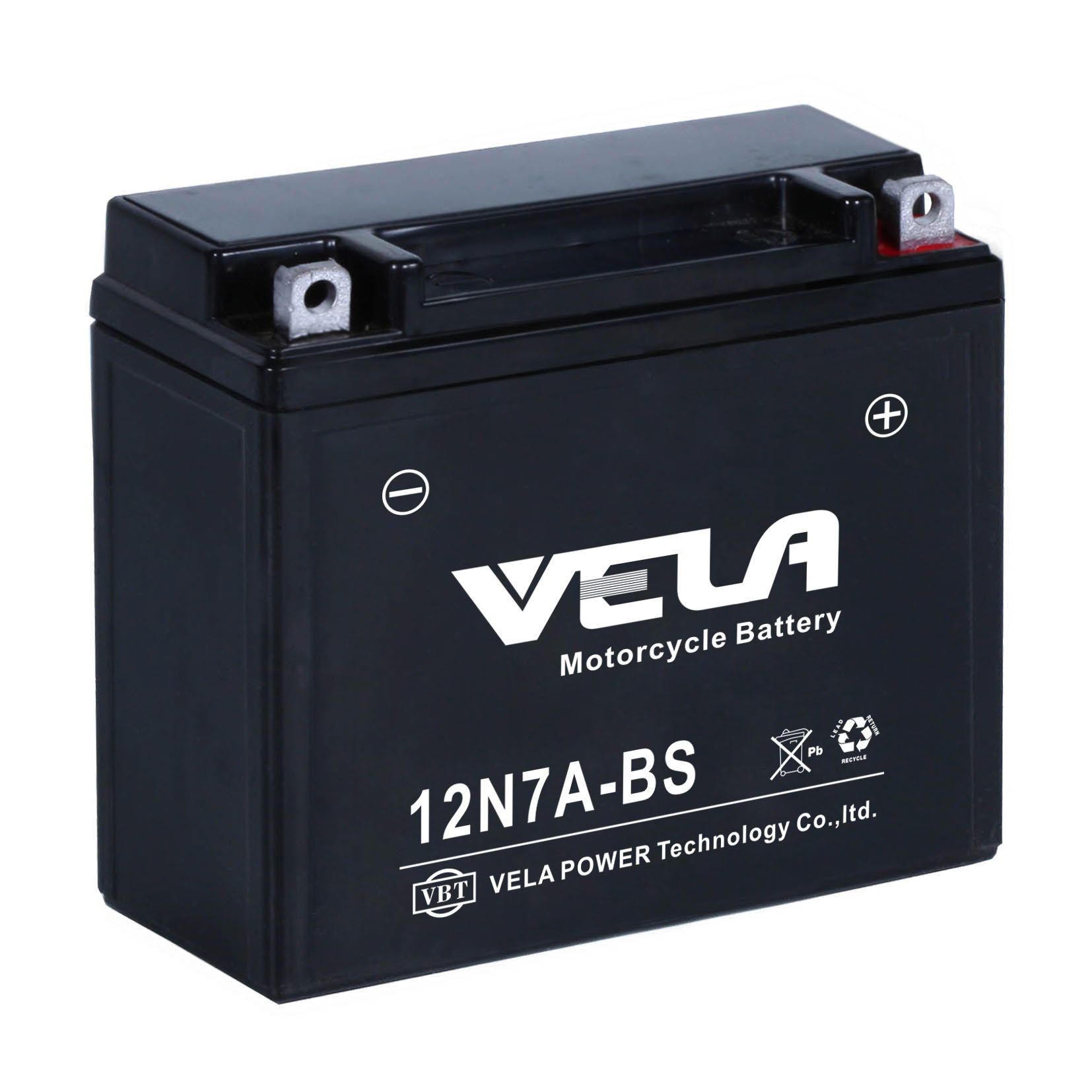 Oem High Quality Cheap Price 12N7A-BS MF Lead Acid Motorcycle Battery Factory Price-VELA