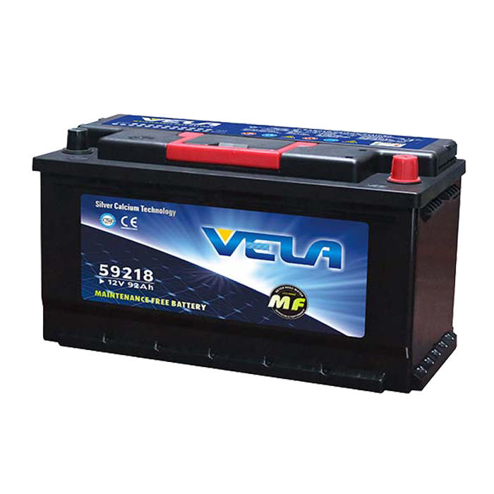 12v 92Ah best quality maintenance free  car battery