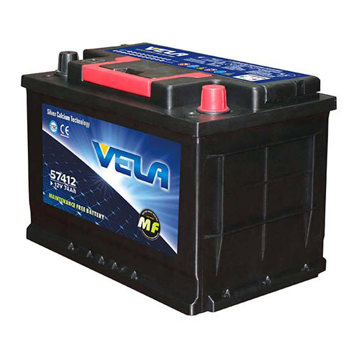 12V 74Ah vehicle battery best car battery brand DIN74L